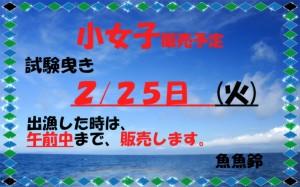 魚魚鈴試験曳き